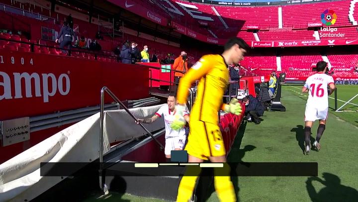 LaLiga Santander (J18: Resumen y goles del Sevilla 3-2 Real Sociedad