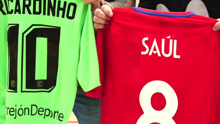 Saúl and Ricardinho: Magic!