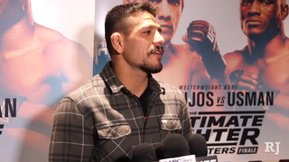 Dos Anjos and Usman TUF 28 media day