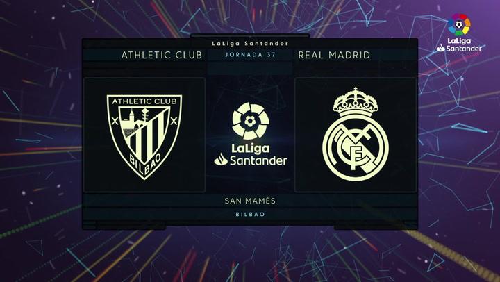 LaLiga Santander (J37): Resumen y gol del Athletic 0-1 Real Madrid