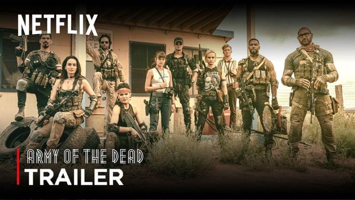"""Netflix estrena tráiler de """"Army of the Dead"""" película dirigida por Zack Snyder"""