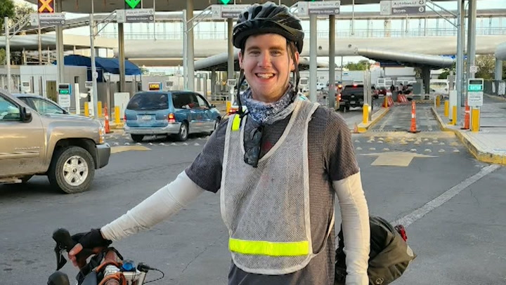Cycling journey raises money for queer youth