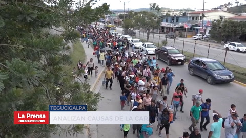Analizan causas de la caravana del migrantes