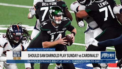 FNNY: Should Sam Darnold start Week 5 against the Cardinals?