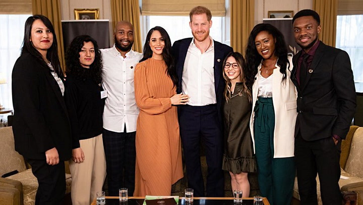 La reunión de Harry y Meghan con jóvenes líderes antes de despedirse de su papel como 'royals'