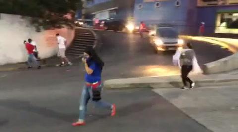 Disturbios en las afueras del Nacional tras culminar partido