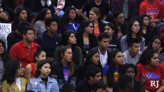 Valley High School students coordinate assembly to call attention to gun violence