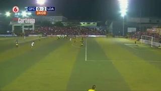 Alex López anota su segundo gol con el Alajuelense ante Guadalupe FC