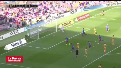 Barcelona 3-0 Levante (Liga de España)