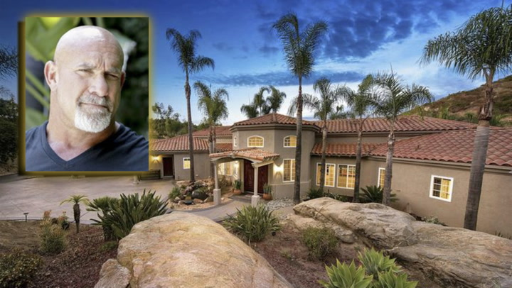 WWE Champ Bill Goldberg's SoCal Complex Is a Car Lover's Dream