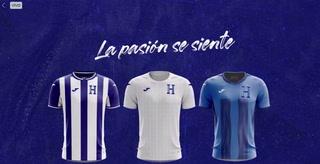Diunsa presenta nuevas camisetas de la selección de Honduras rumbo a Qatar 2022
