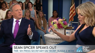 Megyn Kelly absolutely nails Sean Spicer to a cross in confrontational interview