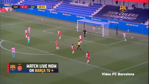 Barcelona 3-1 Girona (Liga De España 2020)
