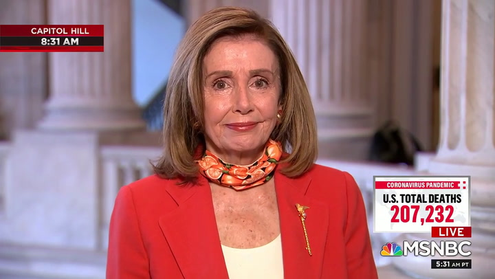 Pelosi: Don't Be 'Intimidated' by People Who Look Like ICE Agents, Law Enforcement at the Polls