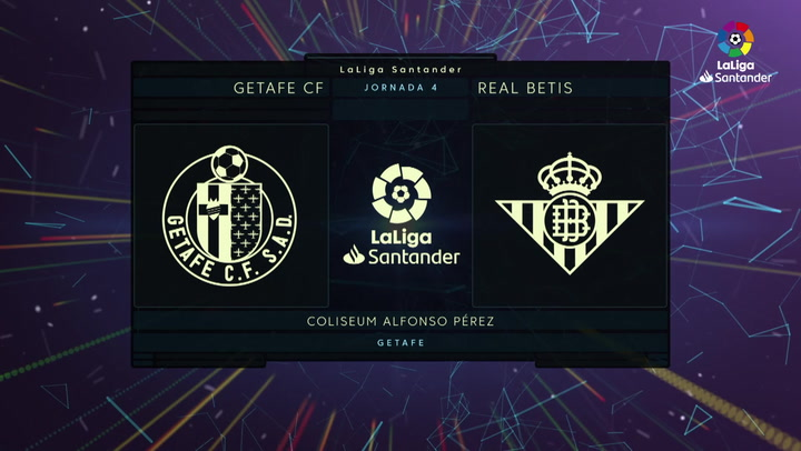 LaLiga Santander (J.4): Getafe 3-0 Betis