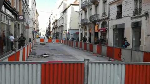 Explosión de un paquete bomba en calle de Lyon