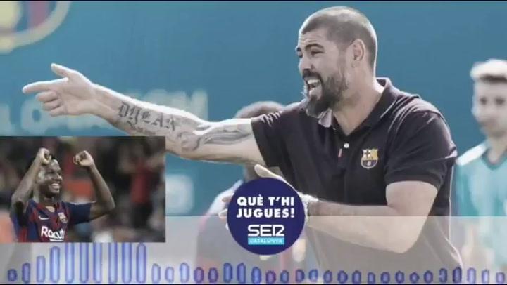 """Víctor Valdés, sobre Ansu Fati: """"Lo ideal es que juegue en el Camp Nou. Es un jugador que debe aspirar a lo máximo"""""""