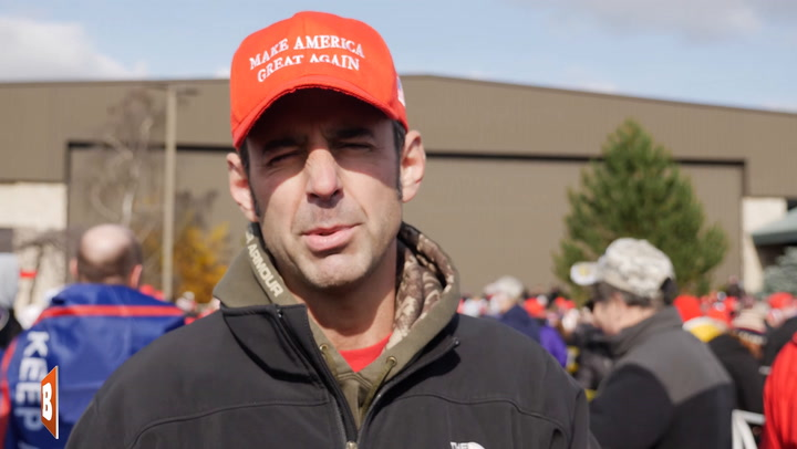 WI Trump Supporter: Joe Biden More Corrupt than Hillary Clinton
