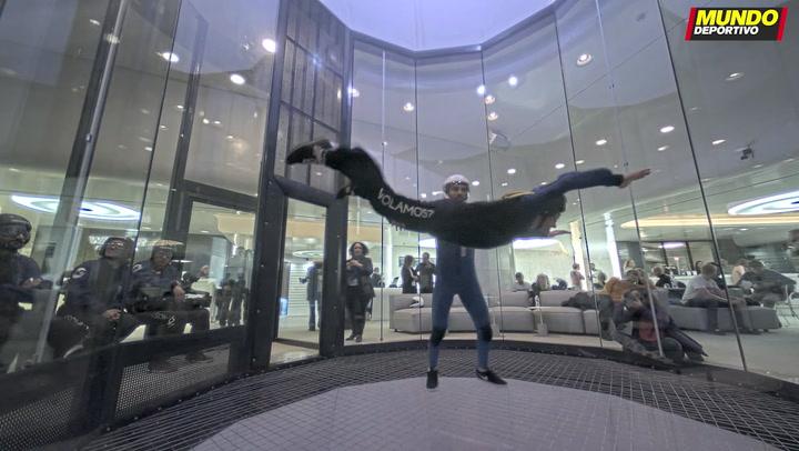 MD prueba la experiencia de volar en Windoor Barcelona