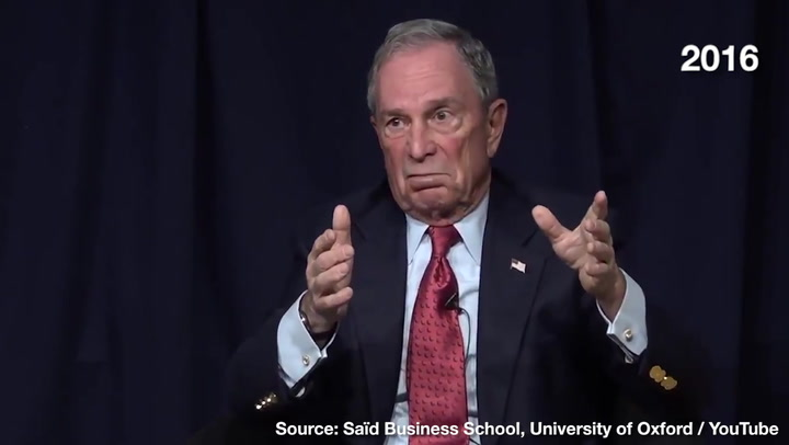 Watch–Michael Bloomberg Belittles Farmers, Machinists: Modern Jobs Require More 'Gray Matter'