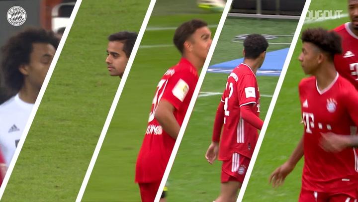 Atletas do Bayern que subiram da base em 2019/20