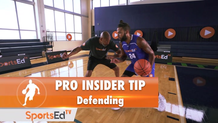 NBA Pro Insider Tip with Mark Strickland - Defending