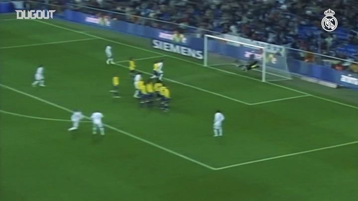 David Beckham's free kick goals for Real Madrid