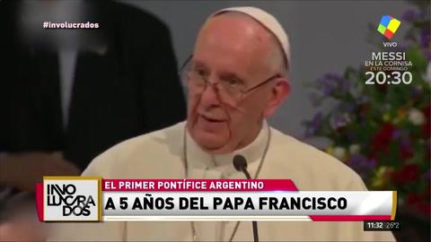 Se cumplieron 5 años del nombramiento del Papa Francisco
