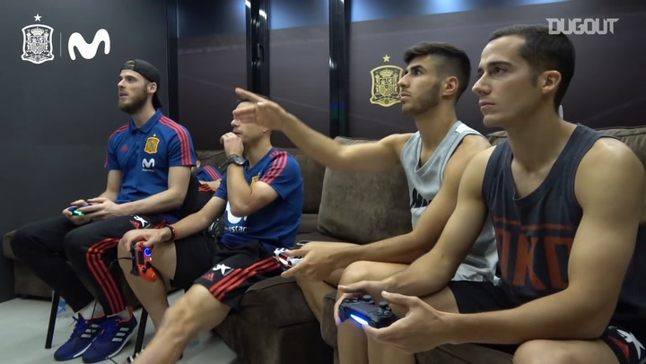 When Spain players had a Premier League vs Real Madrid FIFA showdown