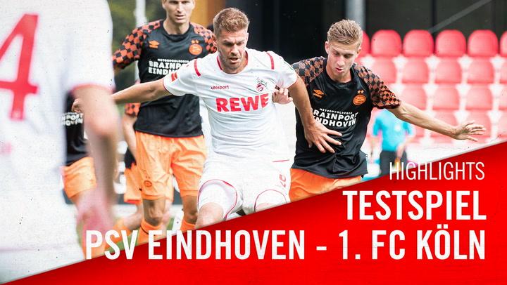 Highlights: Testspiel gegen Eindhoven