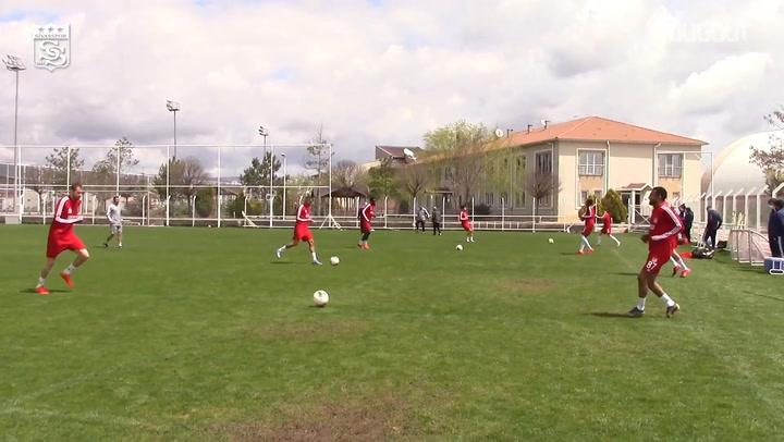 Sivasspor'un Süper Lig Hazırlıkları