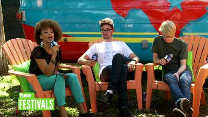 "Festivals: ACL: Alt-J on Making ""Gangster"" Videos and Mumford & Sons Covering Their Song"