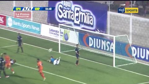El 1-0 de la UPN al Honduras Progreso