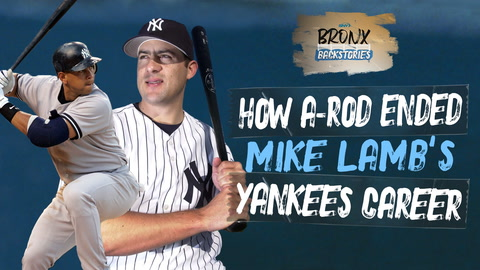 How Alex Rodriguez ended the Yankees career of Mike Lamb