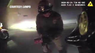 LVMPD rescued a cat from a soup can. -VIDEO
