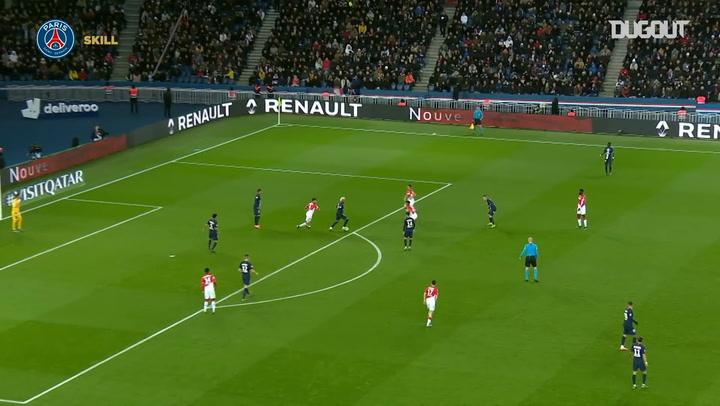 Neymar's incredible skills infuriate AS Monaco players