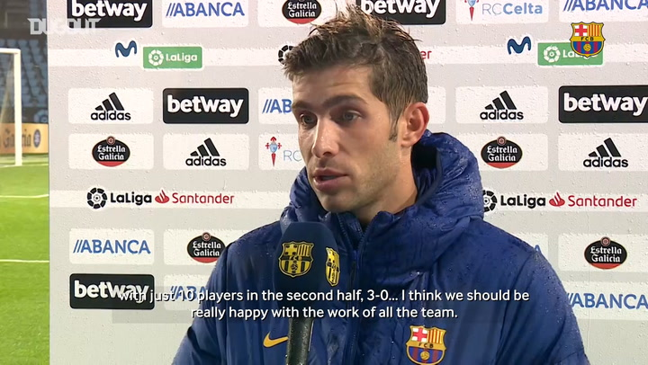 Koeman: 'I saw a very disciplined team tonight'