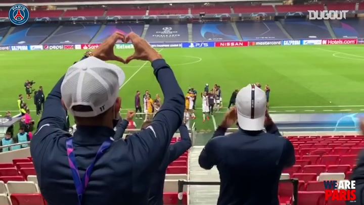 Behind the scenes of Paris Saint-Germain's comeback vs Atalanta
