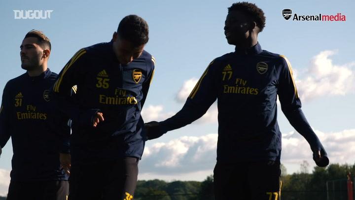 Shkodran Mustafi on Gabriel Martinelli's impact at Arsenal
