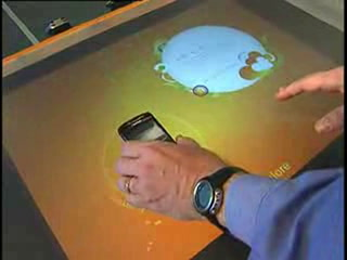 Microsoft Surface demo at AT&T retail stores