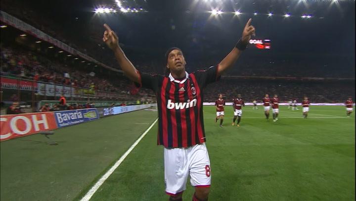 Ronaldinho's brace vs Juventus (2010)