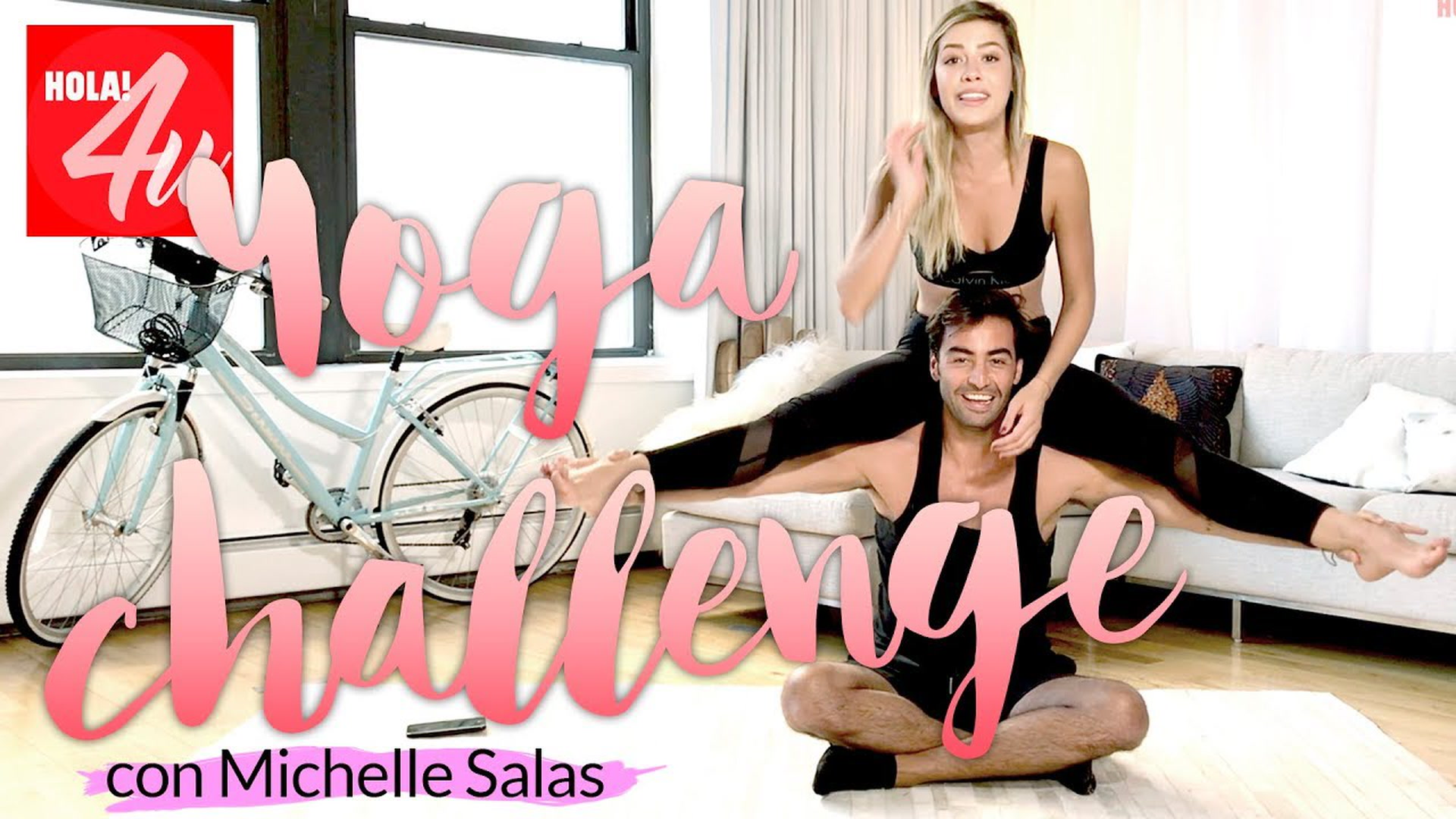 'Yoga challenge' con mi amigo Fran