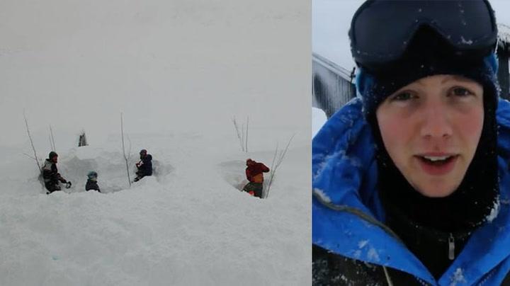 Dette er Norge nå: Må søke med stenger for å finne bilene sine