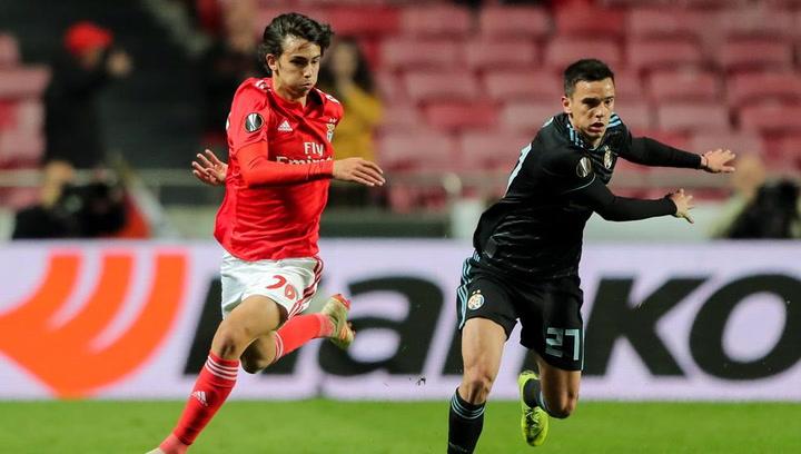 Joao Félix, joven promesa del Benfica