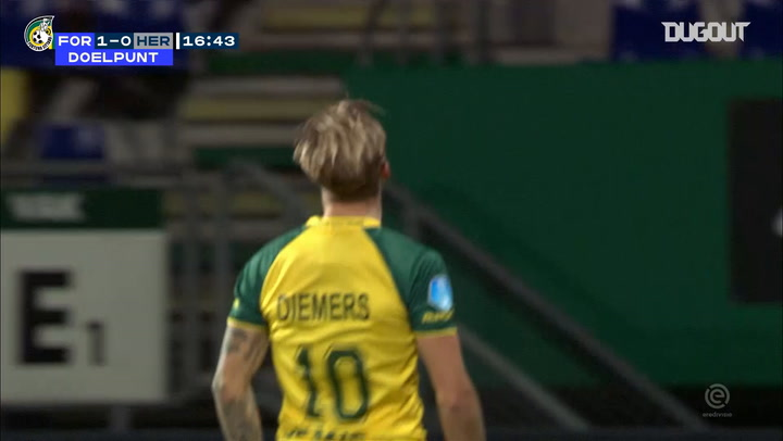 Fortuna thrash Heracles at Fortuna Sittard Stadion