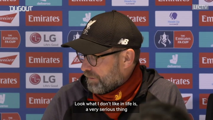Klopp: 'My opinion on coronavirus is not important'