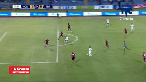Video: Honduras está venciendo 2-0 a Trinidad y Tobago