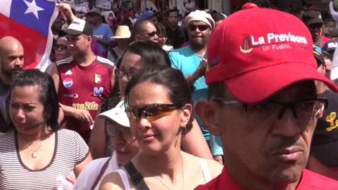 El chavismo mueve a miles de personas en Caracas