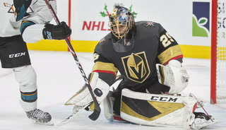 Marc-Andre Fleury talks after Golden Knights practice (DON'T USE)