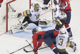 Golden Edge: Knights Fall Against Capitals In Game Three